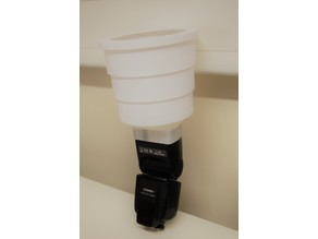 Collapsible Telescopic Flash Diffuser