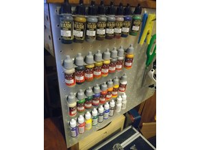Valejo Paint rack for peg board