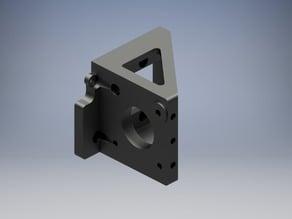 Printrbot Alu v2 Extruder / Motor mount