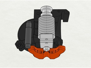 Prusa i3 MK3 Alternative part cooling duct