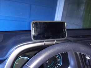 Toyota Rav4 Dashboard Phone Holder