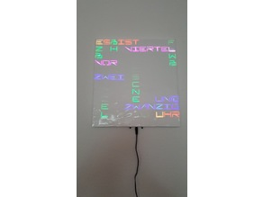 another text clock