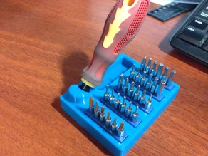 """Stand for screwdriver """"Jackly"""" 31 set in 2 ver."""