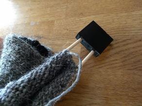 Yarn needle end cap 4.5mm