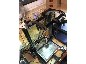 CreaLight - LED light for any CR-10 frame