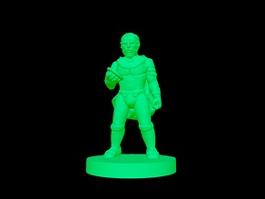 Mercenary Captain (18mm Scale)
