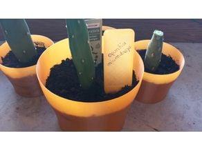 Simple planting pot (vase mode)