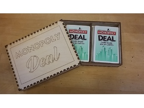 """Monopoly Deal"" Card Box"