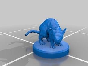 Giant Rat Miniature