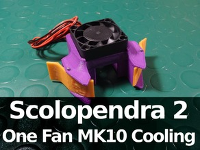 Scolopendra 2 One Fan MK10 Cooling System