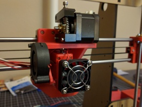 Anet A8 Prusa I3 E3d V6 Upgrade Direct Drive Mount with Print and Hot End Fan Ducts