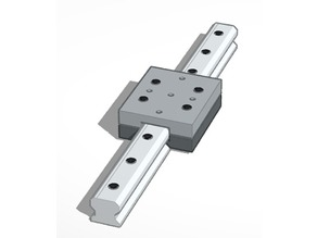 Quad-Corner Recirculating Linear Bearing