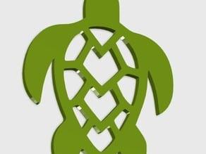 Turtle Mesh Pendant