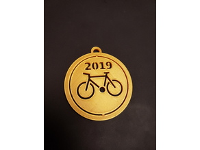 Spinning Medal Bicycle