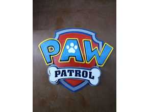 Paw Patrol Badges - Chase- Sky - Everest - Rocky - Marshall