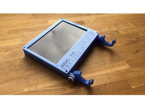 Enclosure for Pollin Ls7 - 7inch HDMI LCD with buttons