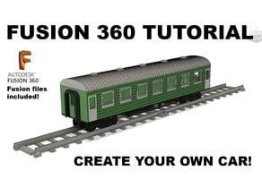 Train Car Tutorial in Fusion 360 for OS-Railway