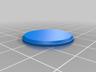 25mm Round Wargames Figure Base MK1