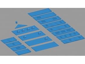 European House Building Modular for Wargames
