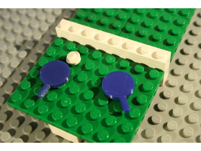 Ping Pong Paddle for Lego®