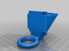 Alternative Geeetech A10 part cooling fan duct