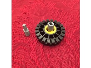 DC Motor To Lego Axle Adapter