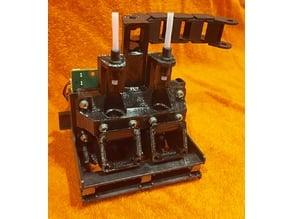 Da Vinci Duo 2.0 Dual E3D conversion no drilling no cutting