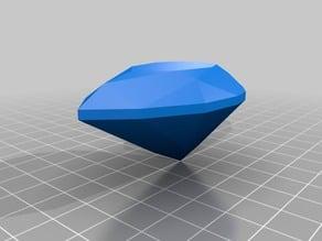 Pear cut gemstone