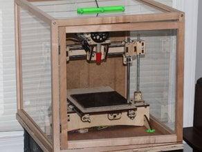 Printer Enclosure Cut List (Parametric)