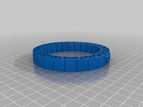 Flexible name bracelet - Tia