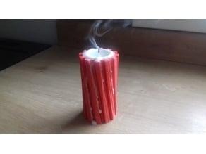 Spiral tealight