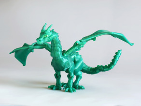 """Braq""  jointed dragon"