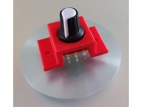 Halter für Potentiometer