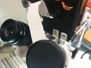 AmScope Raspberry Pi camera upgrade