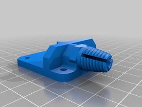 Ender 3 - flexible extruder with fitting