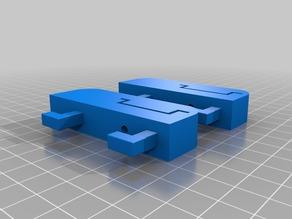 35mm DIN rail mount for IKEA Skadis