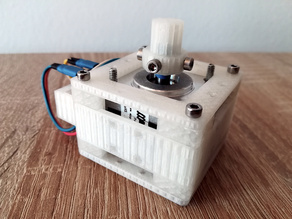 General purpose NEMA 14 stepper motor casing