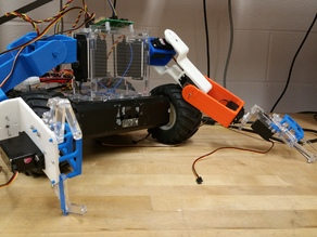 PM 1.0, Robotic arm with 4 degrees of freedom