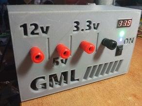 GML ATX-based Bench Power Supply Panel