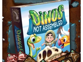 Dino Meeples from Dinos Not Assembled Game