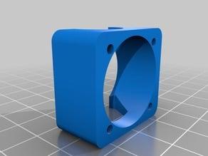 25mm Fan support hotend hexagon