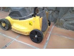 Wheels for lawn mower
