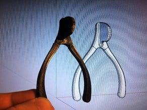 Design Print Build - 0003 Wishbone - Reusable for Thanksgiving