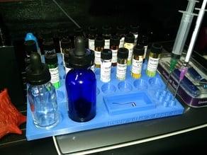 DIY Mixing Station (24 bottles) for Vaporizor e-juice (Vape, vapelife, vapegear)