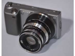Leica L39 to Sony E-Mount adapter