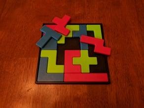 Pentomino (Tetris) Puzzle by Henry Dudeney