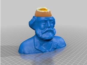 egg cup Karl Marx  -enjoy