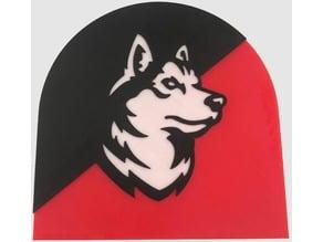 Northeastern Wolf Plaque