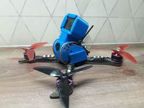 Furibee X215 Pro GoPro Hero 5 Session mount + side covers
