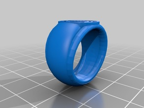 Thicker Rose Seal Ring